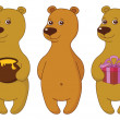 Royalty-Free Stock Photo: Teddy bears, set