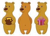 Teddy bears, set — Stock Photo