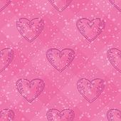 Valentine heart, seamless — Stock Photo