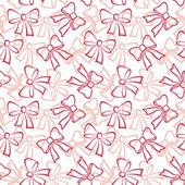 Seamless background, contours bows — Stock Photo