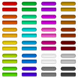 Glass buttons of various colors, set — Stock Photo #17970867