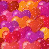 Coeur Saint-Valentin, sans soudure — Vecteur