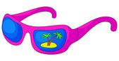 Glasses sun-protection — Stock Vector