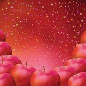 Apple, background — Stock Photo