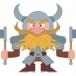 Dwarf warrior — Stock Photo #22435125