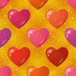 Royalty-Free Stock Photo: Valentine heart, seamless