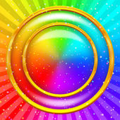 Rainbow background — Stock fotografie