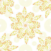 Abstract floral seamless background — Stock Photo