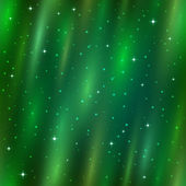 Seamless background, Aurora Borealis — Stock Vector