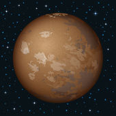 Planet Mars in space — Stock Photo