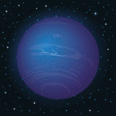 Planet Neptune in space — Stock Photo