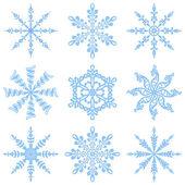 снежинки — Стоковое фото
