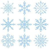 Snöflingor — Stockfoto