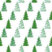 Bezešvé pozadí, vánoční stromky — Stock fotografie