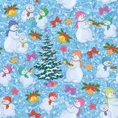 Bezešvé vánoční pozadí — Stock fotografie