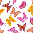 Background, butterflies — Stock Photo