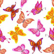 Background, butterflies — Stock Photo #19273637