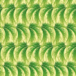 Seamless background, palm leaves - Stock Photo