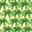 Seamless pattern, palm leaves — Stock Photo #24891057