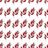 Seamless background, leaves — Stock Vector