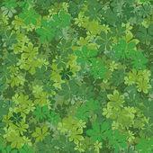 Seamless background, chestnut leaves — Stock Vector