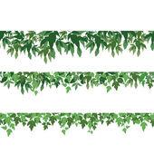 Naadloze achtergrond, esdoorn bladeren — Stockfoto