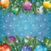 圣诞假日背景 — 图库矢量图片