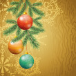 Christmas holiday background — Stock Photo