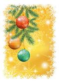 Christmas holiday background — Stock Photo