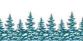 Sfondo senza soluzione di continuità, alberi di Natale — Foto Stock
