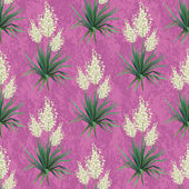 Seamless floral background, Yucca flowers — Vetorial Stock