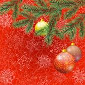 Kerst vakantie achtergrond — Stockvector