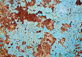 Rusted metal wall background texture — Stock Photo