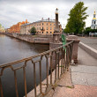 Pikalov bridge in Saint-Petersburg, Russia — Stock Photo