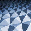 Stock Photo: 3d abstract geometric background