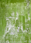 Green painted grunge steel sheet background texture — Stock Photo