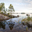 Stock Photo: Coastal landscape, Saimalake, Karelia, Finland