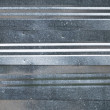 Shining metal wall background texture - Stock Photo