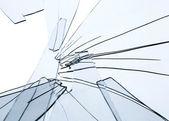 Fragments de verre brisé — Photo