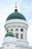 Dome of Helsinki cathedral — Stock Photo
