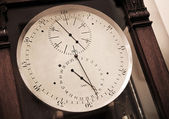 Vintage clock-face of ancient chronometer — Foto Stock