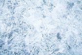 Gedetailleerde achtergrond textuur van verse dun ijs — Stockfoto