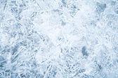 Taze ince buz ayrıntılı arka plan dokusu — Stok fotoğraf