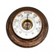 Big outdoor vintage barometer — Stock Photo