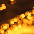 Abstract blurred background with orange lights bokeh — Stock Photo #18904419