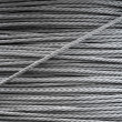 Steel rope background texture — Stock Photo