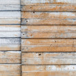 Stock Photo: Old rusted corrugated metal wall background texture