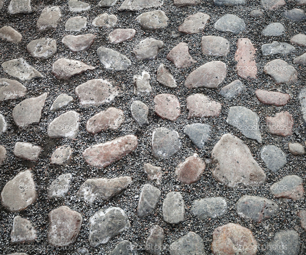 Cobblestone Background Background texture of old