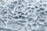 Detailed background texture of broken ice surface — Stock Photo