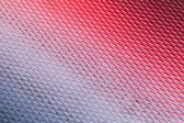 Superfície de metal com reflexos de diamante padrão e vermelho — Foto Stock